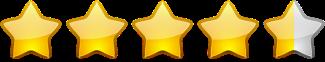 4.5 Sterne